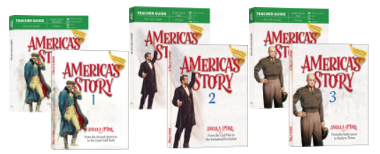 Master Books editions of America's Story