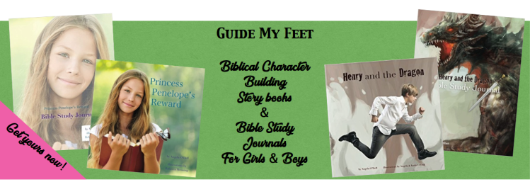 Guide my feet banner